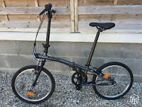 folding bike second hand BTWIN
