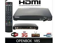 Open box v8s sky tv iptv android