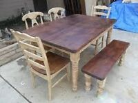 looking for old wooden furniture house clearance will be done for free Preston area