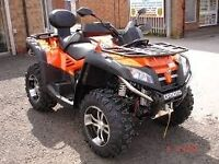 Quadzilla x8 road quad