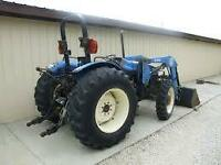 Great 4x4 Tractor 2001 TN65 New Holland