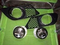 Mercedes c class w204 fog light covers x2