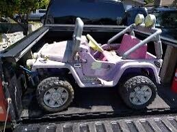 Power wheels jeep wanted asap for parts or repair