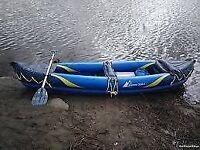 Crivit inflatable kayak