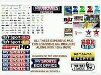 Sky box with 3 years subscription