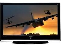 """Samsung 42"""" HD Ready Digital Plasma TV HDMI and Freeview Built-in not 40, 39, 37"""