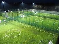 Football players needed for friendly 5/6 a side game. Near Canary Wharf.