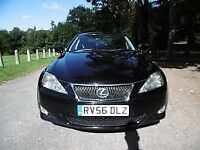 LEXUS IS220D IS-220D BLACK 2.2 BREAKING FOR SPARES TEL 07814971951 HAVE FEW IN STOCK