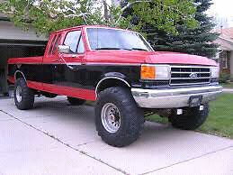 87 ford 6.9 4x4