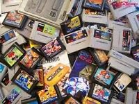 Wanted games consoles and games. Nintendo and Sega Systems