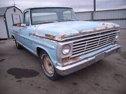 Wanted Project FORD or MERCURY  truck