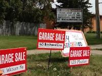 Erindale Multifamily Garage Sale Friday 4-8 PM Saturday 9-2