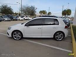 2013 Volkswagen Golf white $16,000