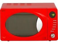 Microwave,Brand New boxed,Red, Next 800W