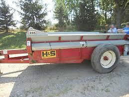 WANTED SMALL OLDER MANURE SPREADER