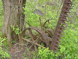 Looking for old farm equipment and tractors