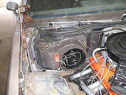 1986 monte carlo heater box and duct