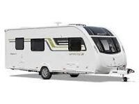 Swift Sprite Major 4SB Touring Caravan - only 3 months old