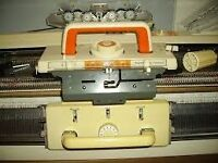 Toyota KS901 Knitting Machine + Ribber + Lots of Extras - A1 Condition - Need quick sale!