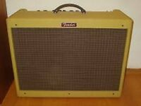 Fender Blues Deluxe 40 watt tweed guitar amplifier: excellent condition first series
