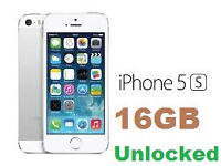 Apple iPhone 5S - White/Silver - Boxed - Unlocked
