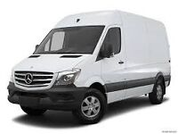Bedfordshire removels services short notice man with vans hand man on request new Mercedes van
