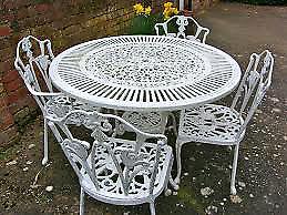 Wanted- Garden furniture