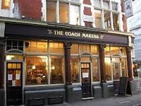 Friendly, Enthusiastic Bar Person – part time / full time - Marylebone