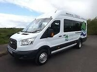 Minibus Hire Manchester with driver 07507565779 / 0161 711 0029