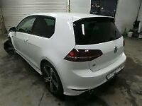 VW GOLF R BREAKING 2012-2016 FRONT END AIRBAG KIT HEADLIGHTS 3 DOOR SUSPENSION ALLOYS SPARES/PARTS