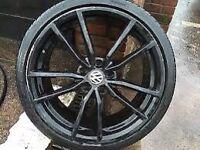 Golf MK7 r wheels