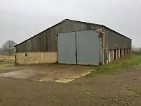 storage, farm unit, yard wanted in Worcestershire and around