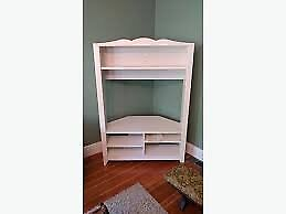 white ikea hensvik tv stand with shelves