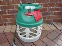 EMPTY BP Gaslight 5kg Propane gas bottle/cylinder - with REGULATOR *BBQ,Camping,Caravan,camper