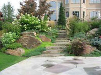 landscaping, shrubs, tree removal, spring cleanup COBOURG
