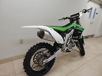 KAWASAKI KXF 450 MOTOCROSS BIKE 2015 MODEL EFI FUEL INJECTED EX CONDITION £3300 ONO NO TEXTS PLEASE