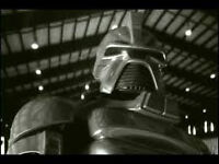 Old School Cylons required - must be programmed with funk algo-rhythm