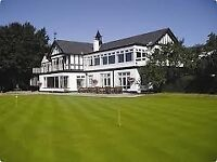 Staff required for Stockport golf club. Kitchen assistant and waiting on staff.