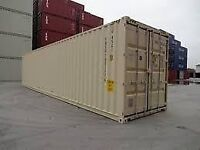 New one trip 40 ft sea container sea can storage