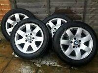 BMW 16'' genuine alloys with tyres