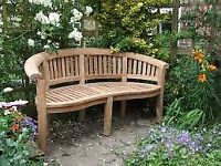 Brand new solid teak deluxe set for garden,patio or conservatory
