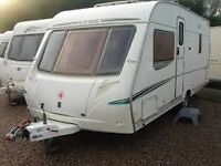 Abbey Spectrum 535 Twin Axle Caravan