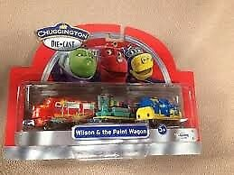 Chuggington Brand New in packaging Wilson & the Paint Wagon