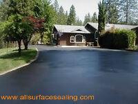 Driveway Sealing - $90 Special - Crack Repair - Asphalt Repair