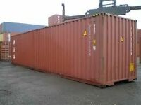 Shipping Containers 20' and 40'