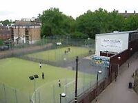 5-6 a side football Canary Wharf Sunday's 3-5pm £6 for 2 hours