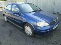 2001 Vauxhall astra 1.6 8v 6 month mot