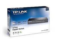 TP-Link TL-SG1008 Rack Mount Network Switch