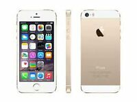 i phone 5S GOLD  64 GB UNLOCKED (WIND COMPATIBLE) $330