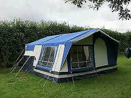 Suncamp 240s holiday trailer tent